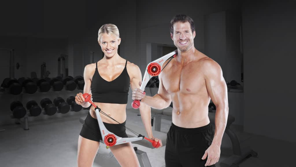 Doubleflex brings high tech fitness gear to qvc oyo fitness