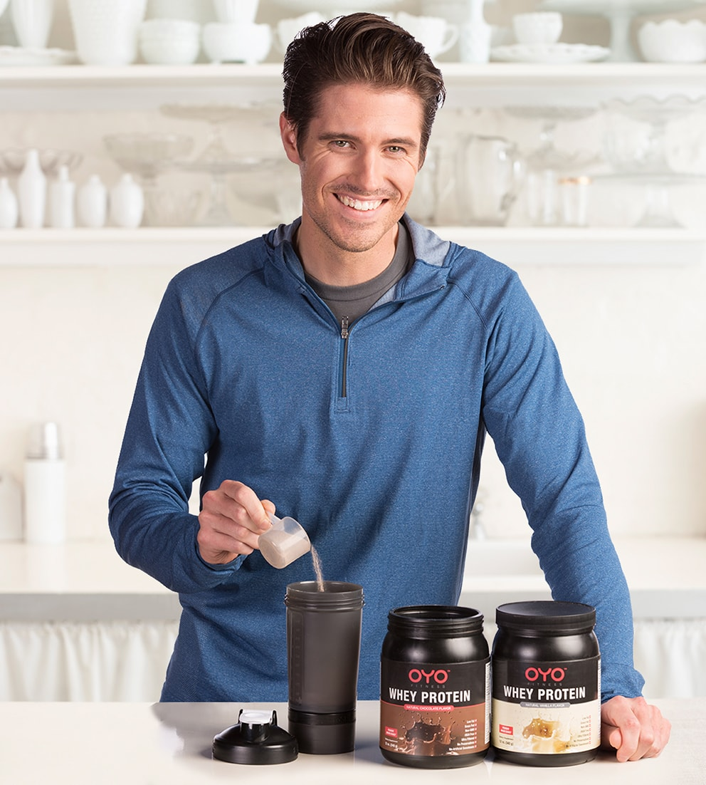 OYO Whey Protein - Developed for DoubleFlex Challenge