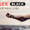 DoubleFlex Black Total Body Portable Gym
