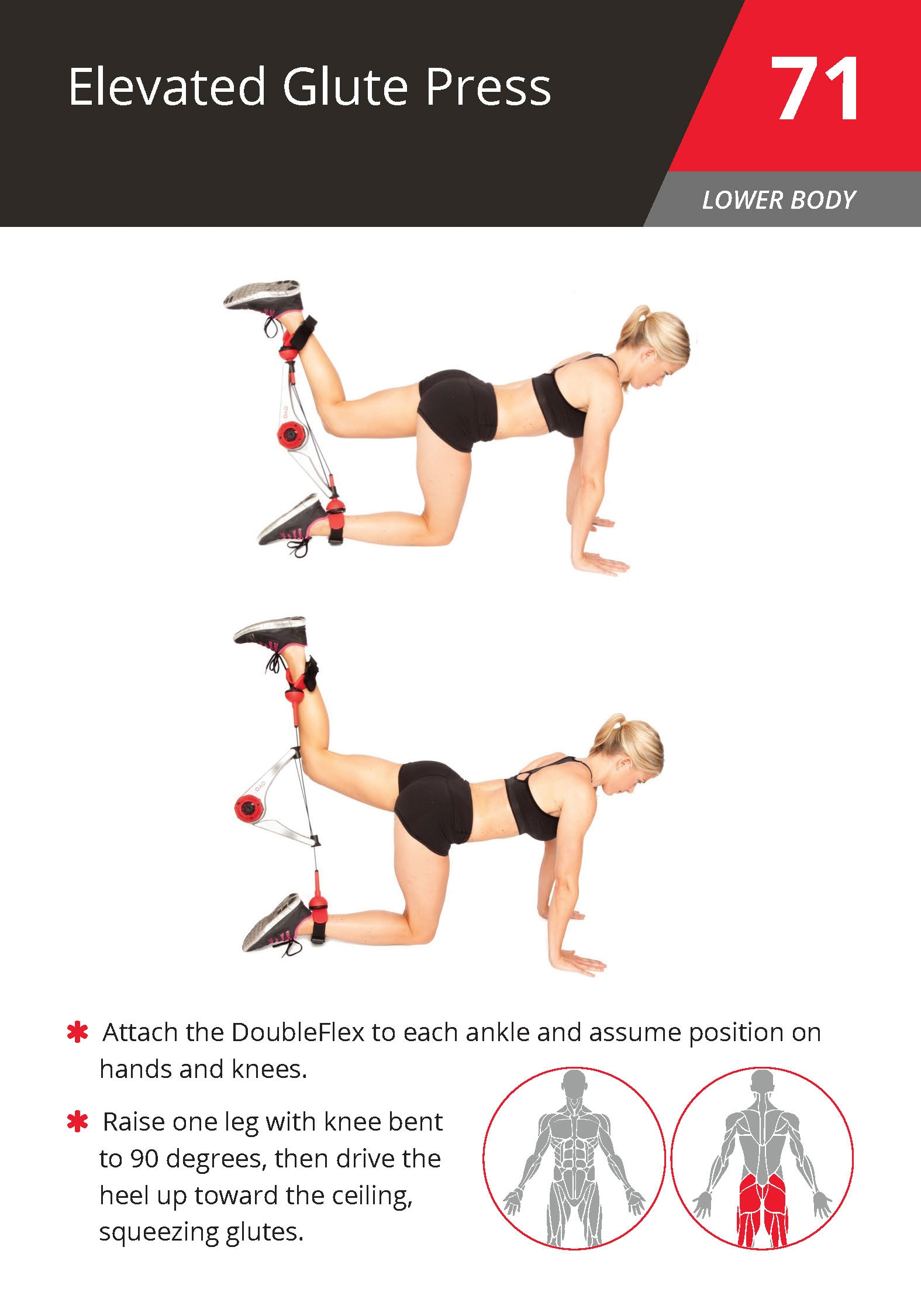 71 Elevated Glute Press