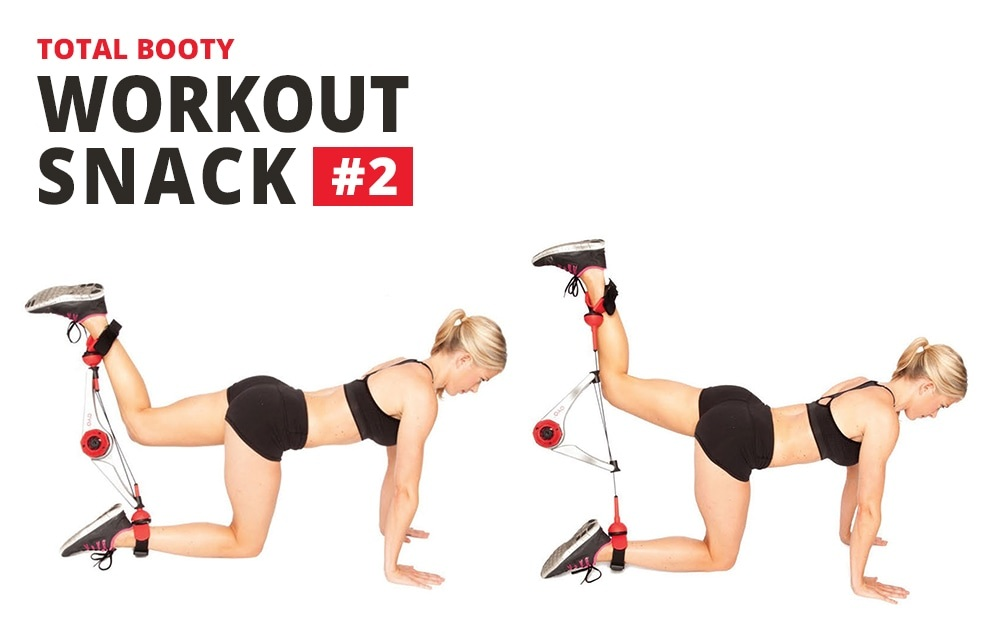 DoubleFlex Workout Snack 2 Chart: Total Booty