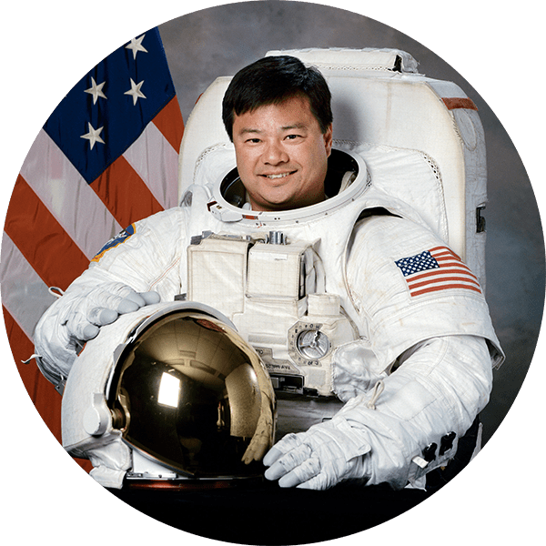 Leroy Chiao Spacesuit Headshot
