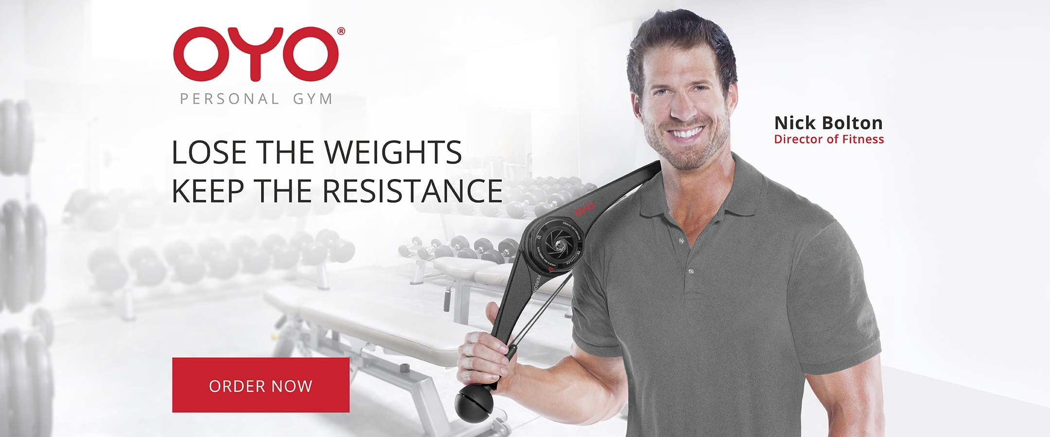 OYO Personal Gym Lose the Weights Keep the Resistance