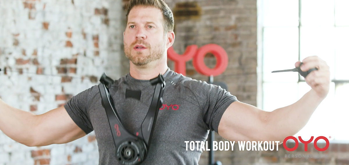 Oyo personal gym total body portable gym for strength training